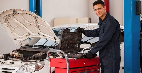 Mechanic and Car in Lake Worth, TX